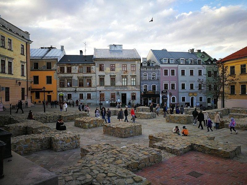 Centrum miasta w Lublinie