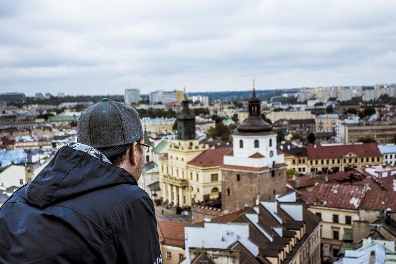 Widok na Stare Miasto w Lublinie
