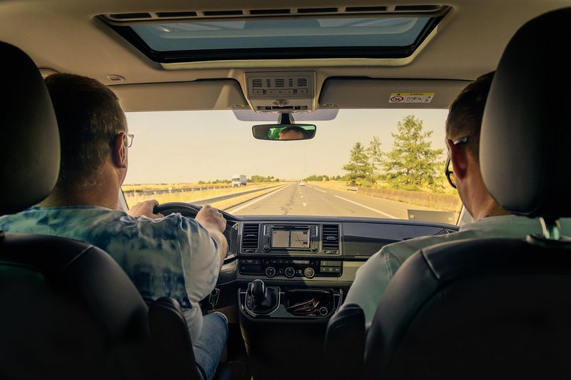 Kierowca i pasażer