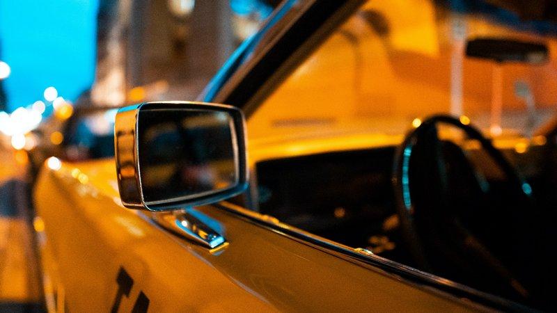 Elegancka taksówka